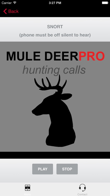 REAL Mule Deer Calls - BLUETOOTH COMPATIBLE screenshot-2