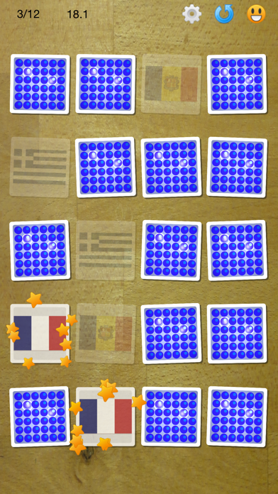 Memo Game - Find matching cards, multiplayer enabled