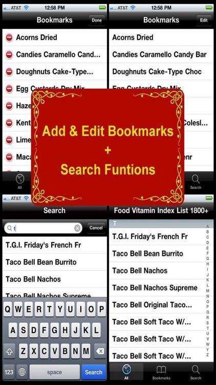 Food Vitamin Index List 1800+ screenshot-4