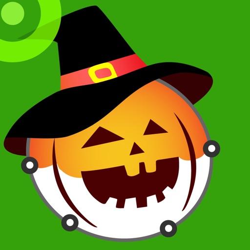 Punto Halloween - Обведи и раскрась