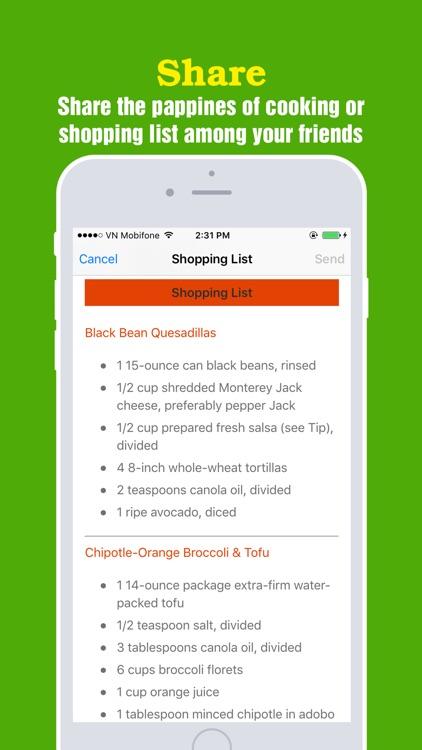 Healthy Vegetarian Pro~Easy & Delicious Meal Ideas screenshot-4