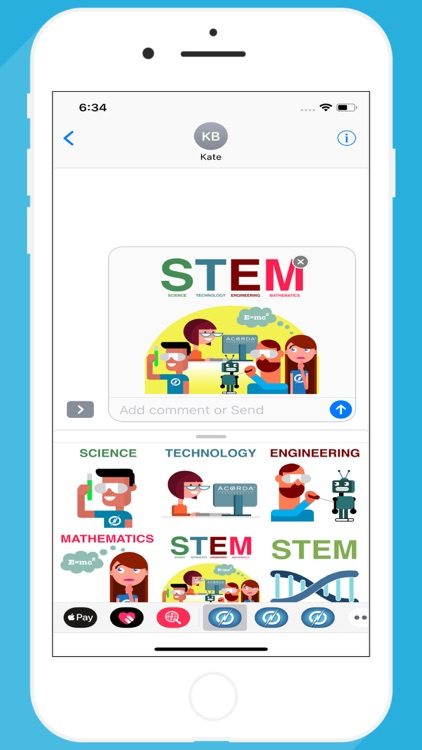 STEM Education Stickers