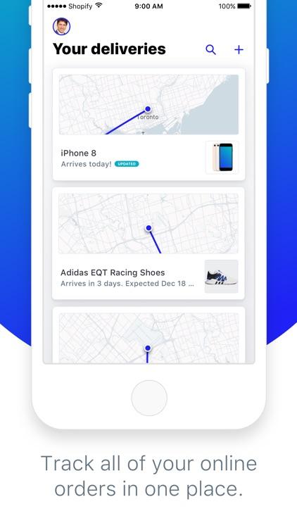 Arrive - Package Tracker screenshot-0