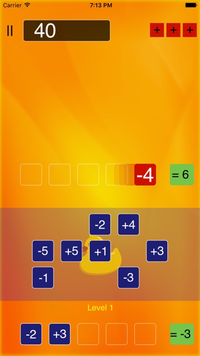 PlusMinus - Reflex Math Game Screenshots