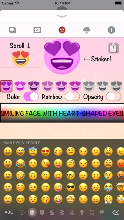 Pink Love • Emoji and stickers screenshot-5