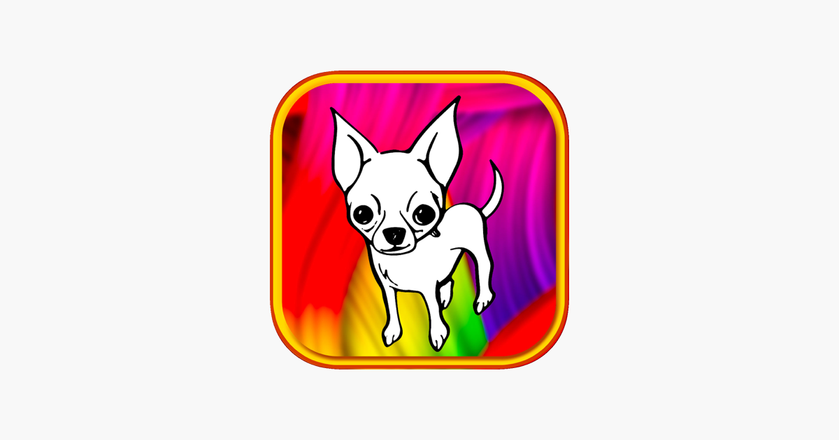 puppy dog coloring book chihuahua show for kid on the App Store