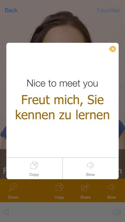 German Video Dictionary - Translate and Speak