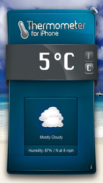 Thermometer-Temperature & Weather ! screenshot-3