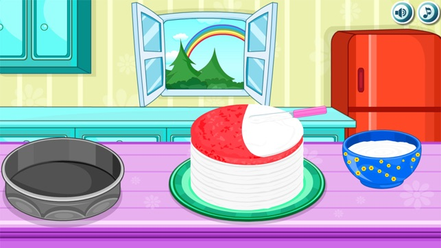 Cooking Rainbow Birthday Cake Im App Store