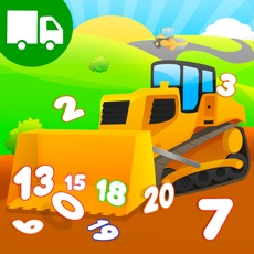 Activities of Learn Trucks Diggers Numbers