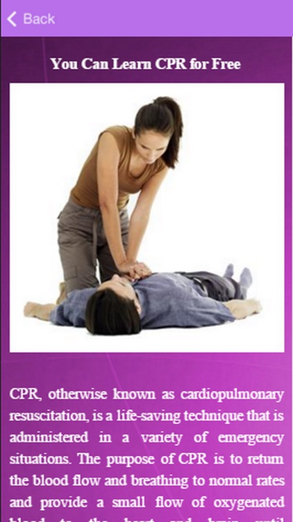 Performing CPR