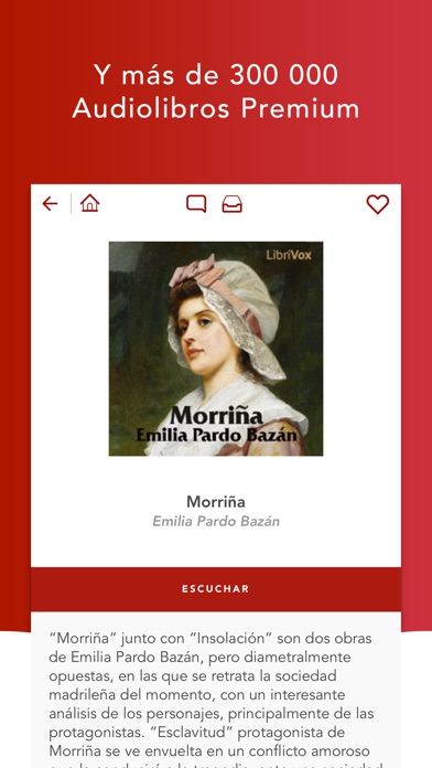 Screenshot for Audiobooks HQ audiolibros in Peru App Store