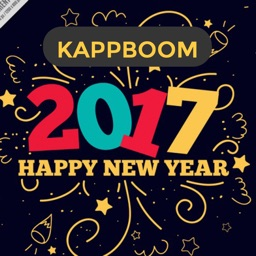 New Year 2017 Stamps by Kappboom