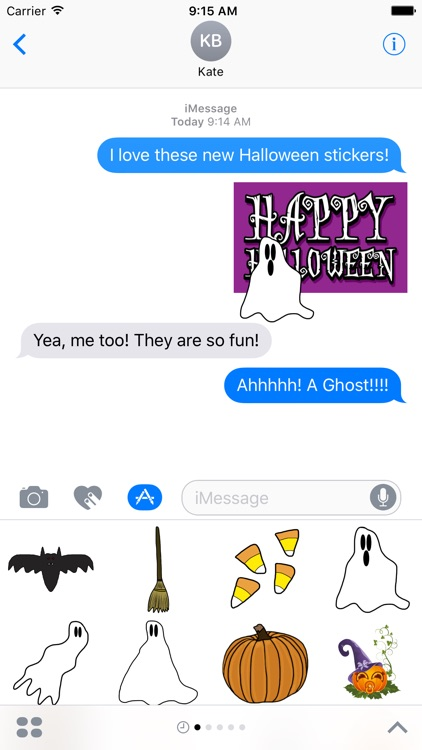 Cute Halloween Stickers for iMessage