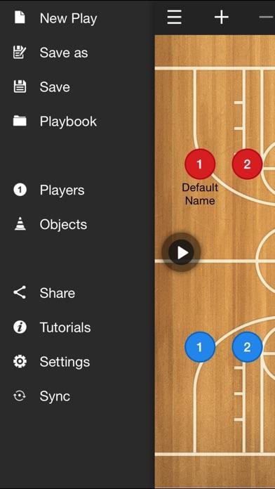 バスケットボールコーチのクリップボード screenshot1