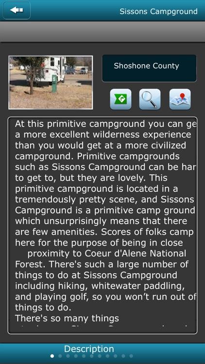 Idaho-USA Campgrounds screenshot-3