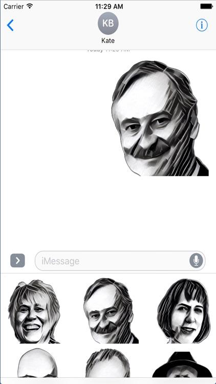 President 2016 Stickers