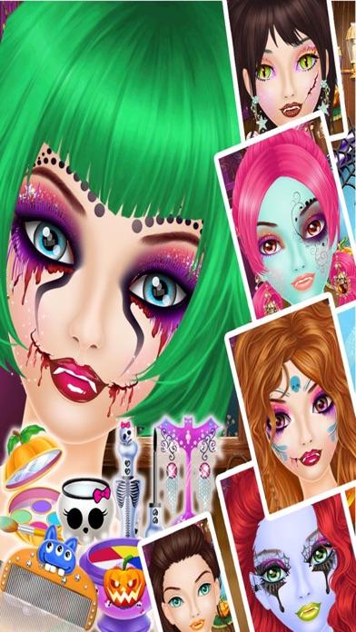 Halloween Makeup Salon - Kids game for girls screenshot four