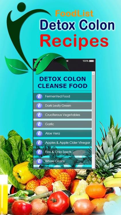 Detox Colon Cleanse Diet Recipe
