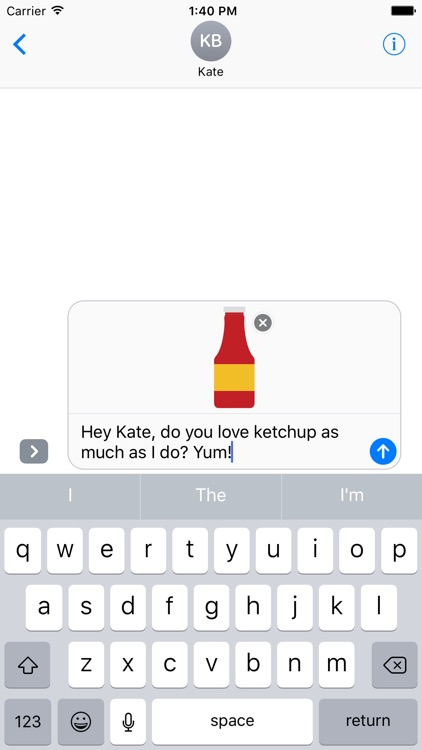 Condiments Sticker Pack for iMessage