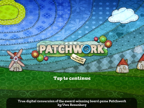 Screenshot #1 for Patchwork The Game