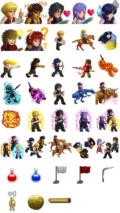 Hero Fighter X sticker packScreenshot of 1