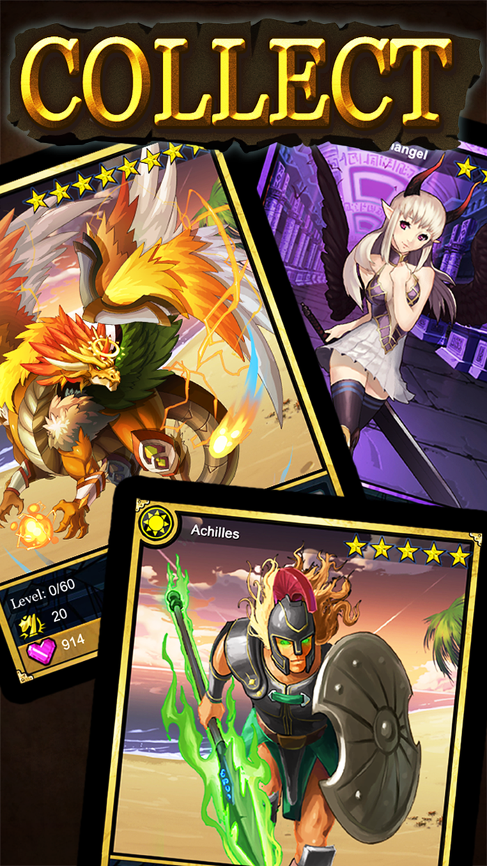 Dragon Era - Slots RPG Card Battle Screenshot