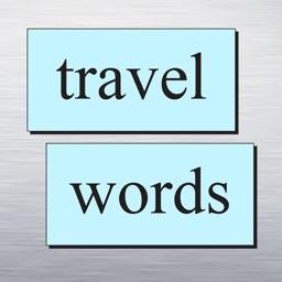 fridge words Travel Sticker Pack