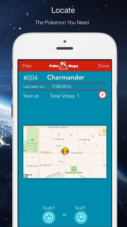 Poke Go Maps for Pokemon Go screenshot-3