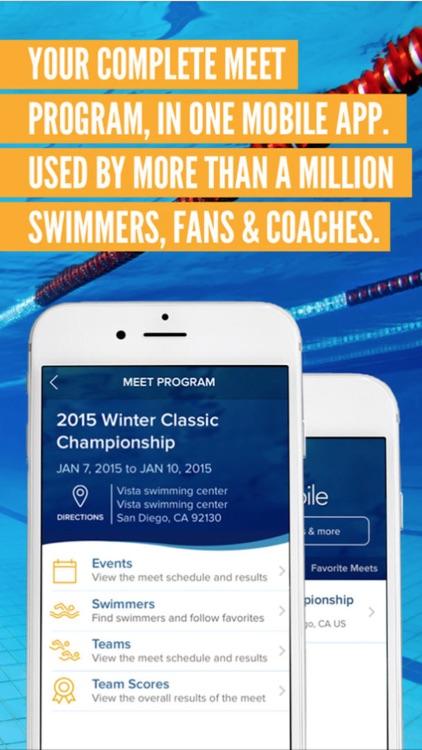 Meet Mobile: Swim screenshot-4