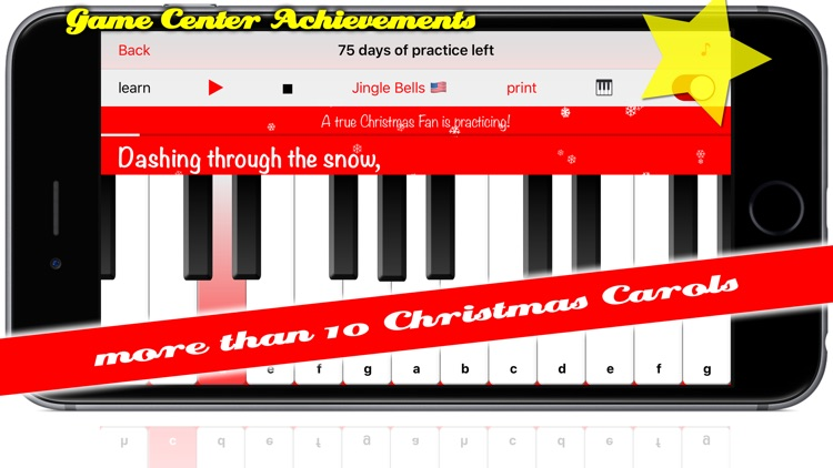 Christmas Countdown + Carols Piano