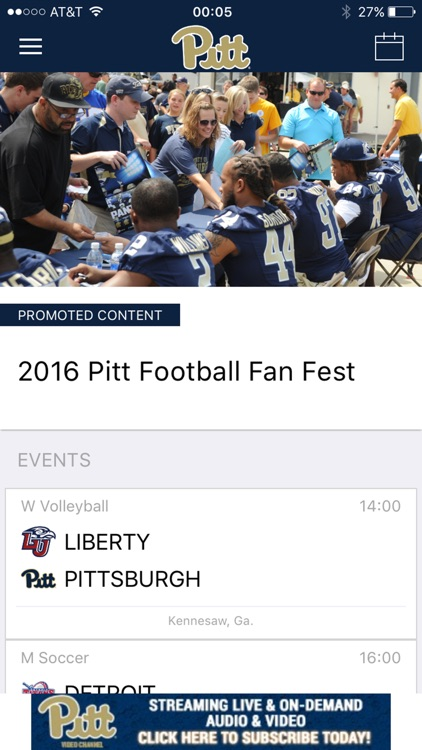 Pitt Gameday LIVE