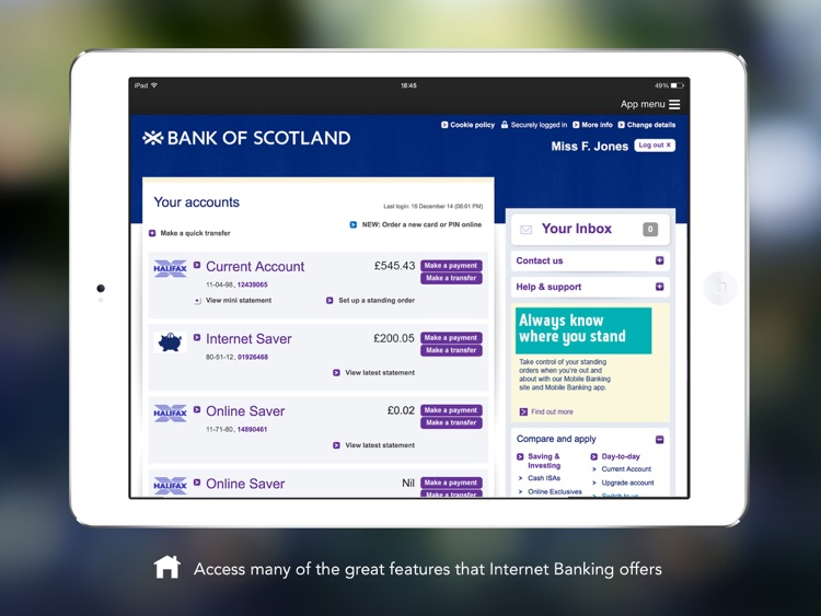 Bank of Scotland Express Login screenshot-2