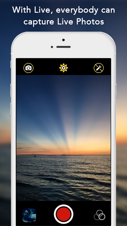 Live - Everybody can capture Live Photos