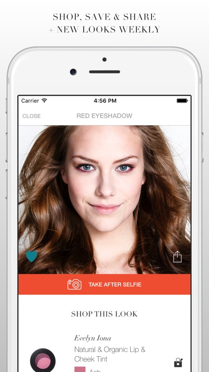 MAP MY BEAUTY - makeup tutorials on your selfie screenshot-4