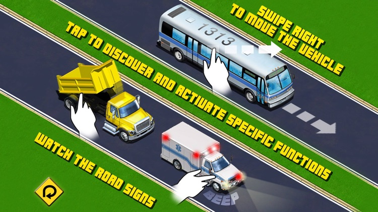 Kids Vehicles: City Trucks & Buses Lite for iPhone
