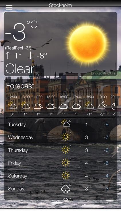 Weather App 10 Days Forecast screenshot-5