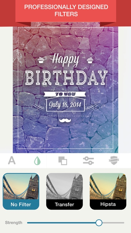 Birthday Card Maker & Frames