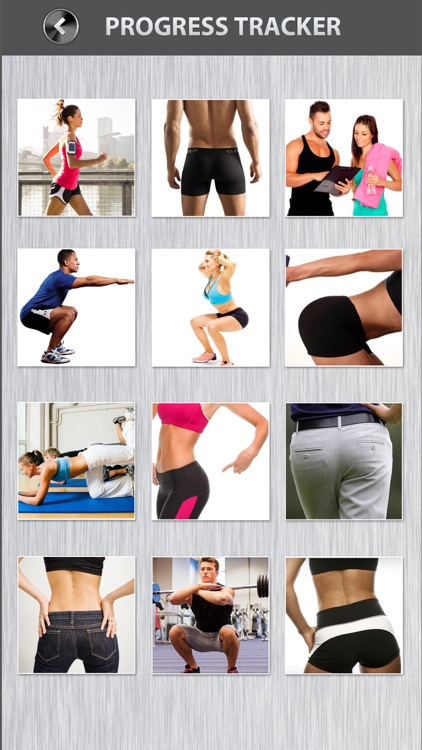 Butt Workout FREE Thigh Squat Cardio Exercises screenshot-3