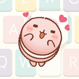 MaCaChan - Pastel Color, Cute & Emotional Stickers
