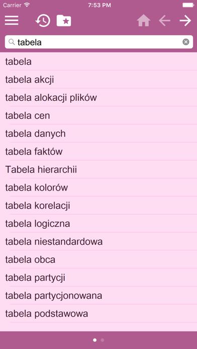English Polish Dictionary screenshot three