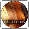 Insta pelo Cambiar color - cosmética, maquillaje herramienta, en lugar de tonos de cabello rubio con colores para Facebook