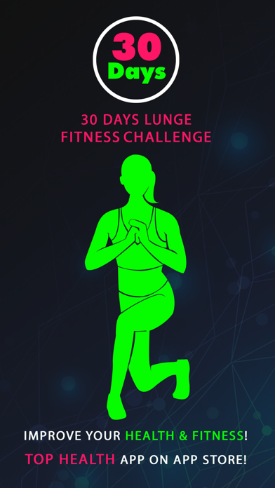 30 Day Lunge Fitness Challenges ~ Daily Workout
