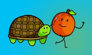 The Turtle and The Apple - An Interactive Kids Story
