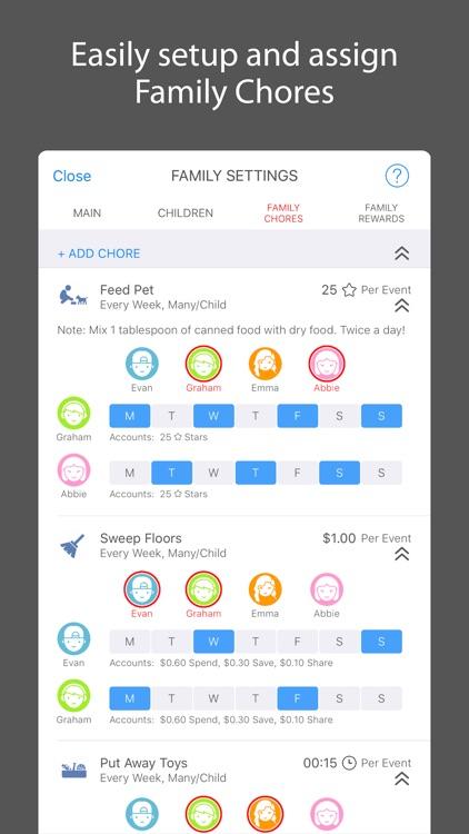 iEarn Lite: Allowance, Chores, Banks & Rewards screenshot-3