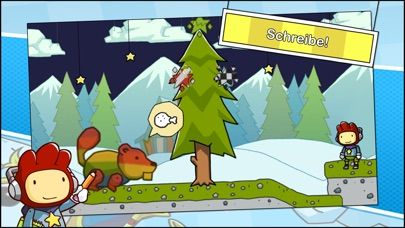 Screenshot for Scribblenauts Remix in Switzerland App Store