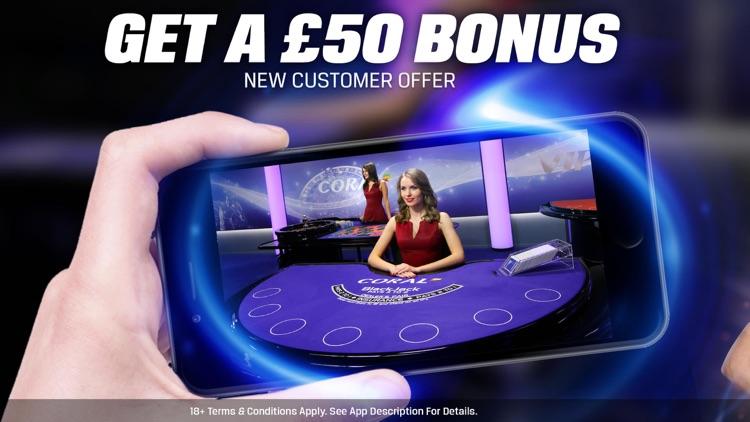Coral Live Casino - Roulette, Baccarat & Blackjack screenshot-0