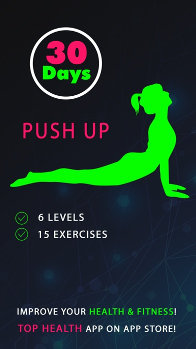 30 Day Push Up Fitness Challenges ~ Daily Workout