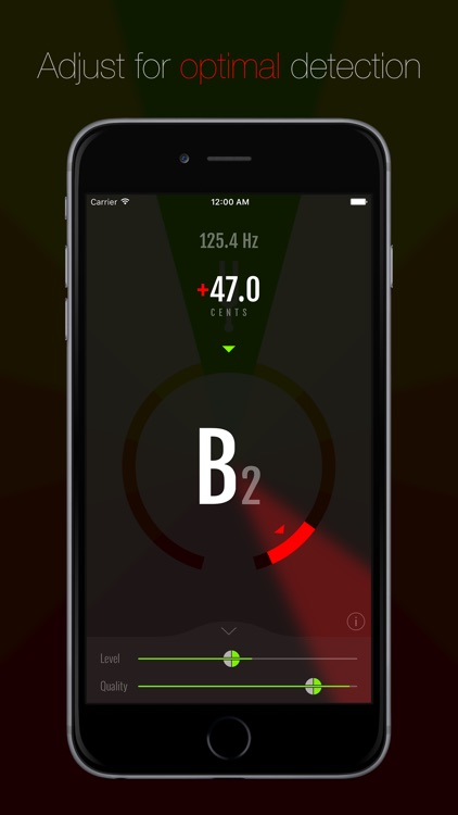 Pitch - Chromatic Tuner screenshot-2