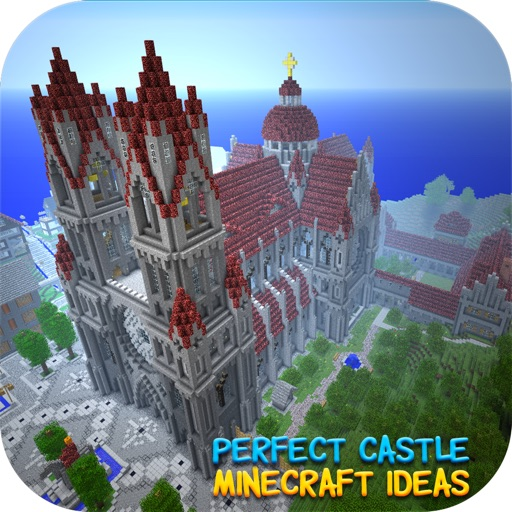Perfect Castle Ideas Background For Minecraft Edition By Theerapat